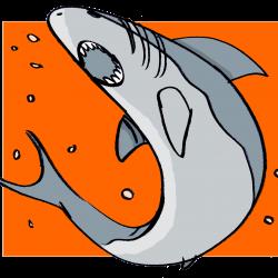 illustration d'un requin représentant un client qui cherche à tout prix garder son argent. Profil irréductible