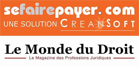 Logo de Sefairepayer et de Le Monde du droit