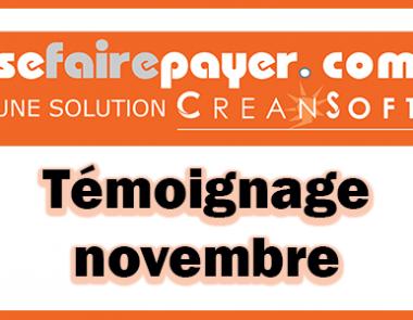 Témoignage du mois de novembre : AEB Impression nous parle de Sefairepayer.com