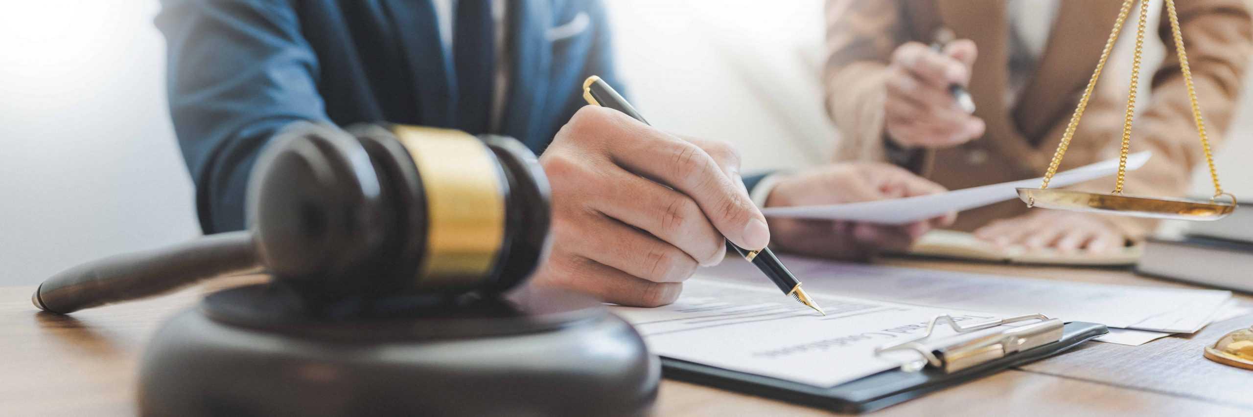 Signature pour recouvrement de loyer impayé