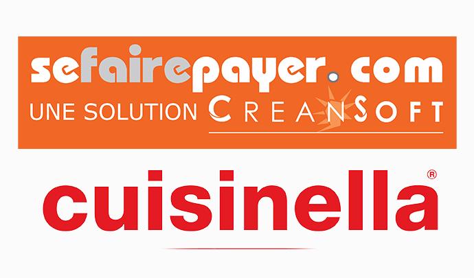 Logo de Sefairepayer.com et de Cuisinella