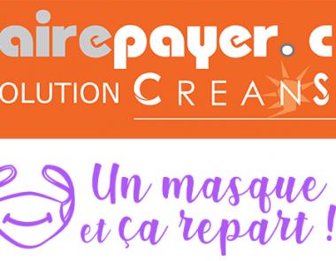 Sefairepayer.com avec «Un masque et ça repart !»