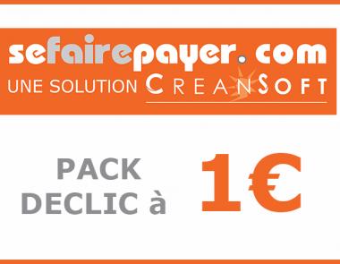SEFAIREPAYER.COM  Nouvelle solution « Déclic » à 1€  pour soutenir la trésorerie des TPE/PME